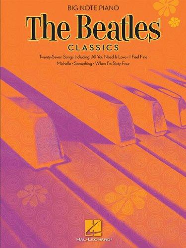 Beatles Classics (Big Note Piano) Classic Rock Note