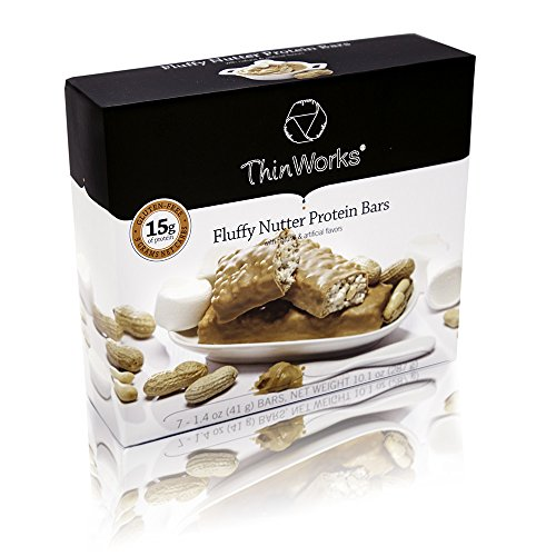 Protein Snack Bar - ThinWorks Fluffy Nutter Low Carb Protein Bars