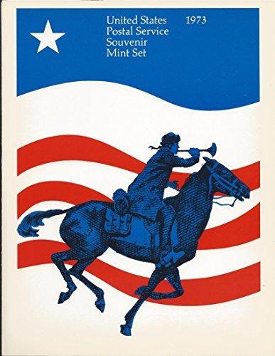 USPS 1973 Mini Album Commemorative Year - Mini Stamp Album