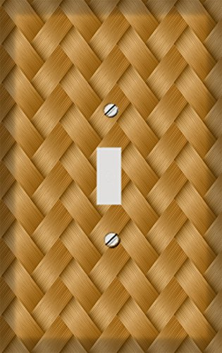 Basket Weave Zig Zag Style Switchplate - Switch Plate Cover