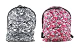kirby backpack - Eikoh Set of 2 I Love Hello Kitty Backpacks - Gray & Pink