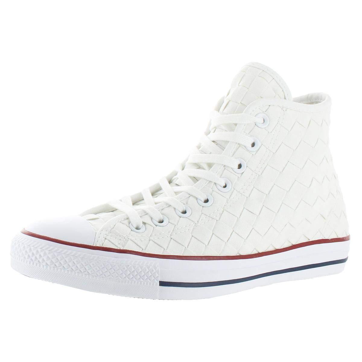 0c2d47f7c65e24 Galleon - Converse Men s Women s Chuck Taylor All Star Hi Woven  Casual Fashion Sneakers (10 B(M) US Women   8 D(M) US Men)