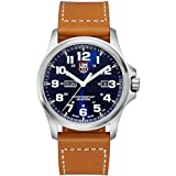 Luminox Atacama Blue Dial Stainless Steel Leather Quartz Men's Watch 1924