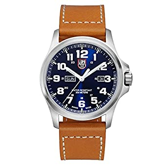 abfa017b8f6 Luminox Atacama Blue Dial Stainless Steel Leather Quartz Men s Watch 1924