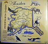 12x12 Alaska State Antique Map Photo Scrapbook Top Load