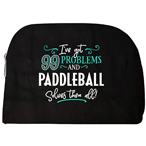 99 Problems Paddleball Solves Them All Gift - Cosmetic (Paddleball Case)