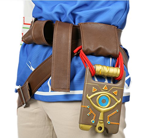 Xcoser Link Belt Sheikah Slate Deluxe Resin Breath Wild Cosplay Prop Accessories