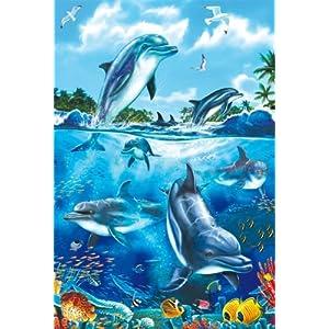Schmidt Spiele 55450 Delfini Puzzle Da 60 Pezzi