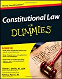 Constitutional Law for Dummies, Consumer Dummies Staff and Glenn Smith, 1118023781