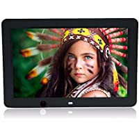 Boddenly 12-inch HD 1024x800 Ultra-thin Digital Photo Frame MP3 Video Player With 8G Memory Card Motion Sensor