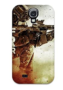 Galaxy S4 Medal Of Honor Warfighter Game Print High Quality Tpu Gel Frame Case Cover