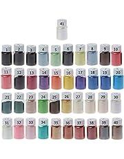 yasu7 41Color Pearl Mica Poeder Epoxy Hars Colorant Dye Pearl Pigment Sieraden maken