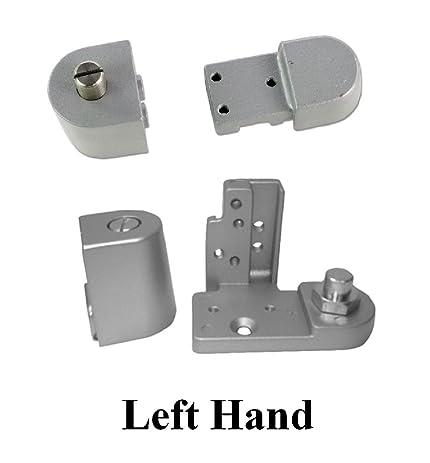 Kawneer Style Offset Commercial Glass Door Pivot Choose Handing