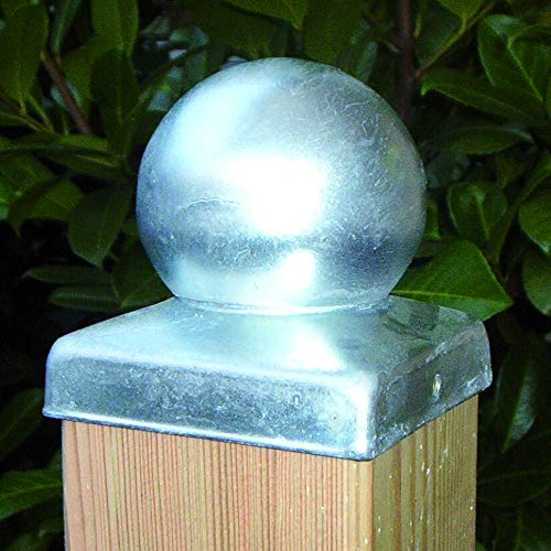 feuerverzinkt Pfostenkugel 7x7 cm