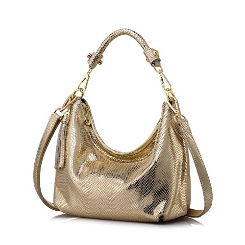 golden Handbags Small Bag Bag Tassels Body Bag Cross Bag Ladies with Handbags Shoulder Womens Handbags Hobo Leather g1nOxwdaq