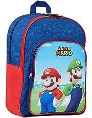 Super Mario Kinderrugzak, schooltas voor jongens en tieners, Super Mario Gifts