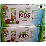 Orgain Healthy Kids Organic Nutritional Shake - 18 Pack 8.25 Oz. Bottles