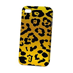 Case Fun Apple iPhone 4 / 4S Case - Vogue Version - 3D Full Wrap - Large Leopard Print