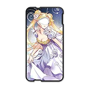 DAZHAHUI Anime cartoon lovely charming girl Cell Phone Case for HTC One M7