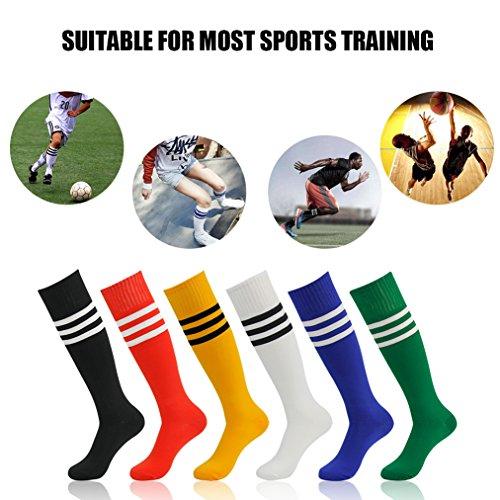 Tube Team Sports Stripe Football Soccer Socks for Men and Women Transla wonder