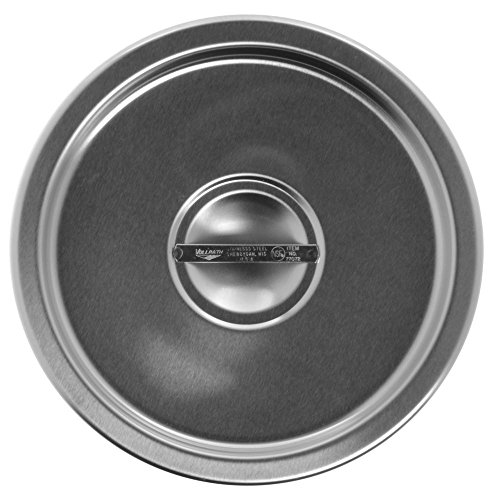 Vollrath 77072 Replacement Solid Cover for 77070 Stainless Steel Double Boiler Set