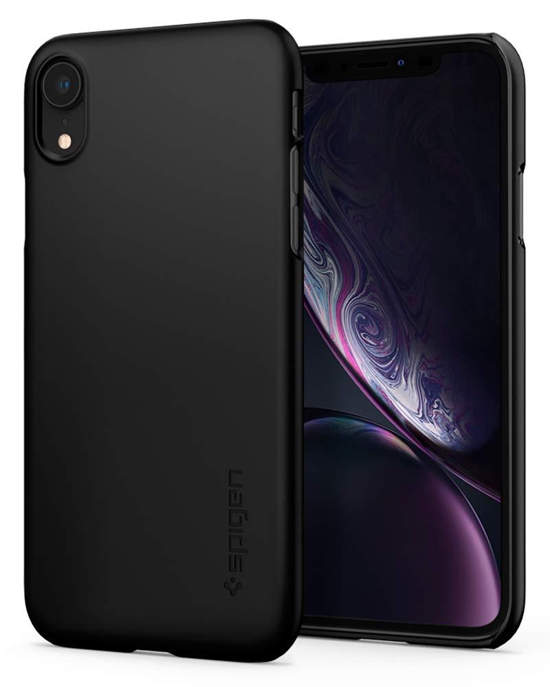 Funda Spigen iPhone Xr [black] Thin Fit