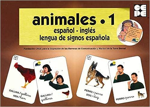 Vocabulario fotográfico elemental - Animales 1 granja Vocabulario fotográfico elemental español,inglés,lengua de signos española: Amazon.es: CNSE, Fundación, de la Torre Bernal, Marisol: Libros