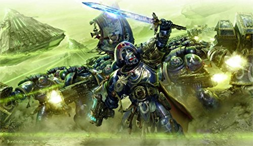 Price comparison product image Warhammer 40K Top Game Canvas Poster Print 24X36
