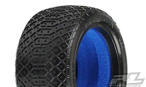 Pro-line Racing 823817 Electron 2.2 Mc (Clay) Off-Road Buggy Rear Tires Radio Control Parts (Buggy Tires Clay)