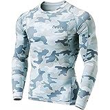 Tesla Men's Long Sleeve T-Shirt Baselayer Cool Dry Compression Top MUD11/R11/R01