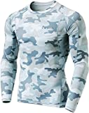 Kyпить Tesla TM-MUD11-MLG_Medium Men's Long Sleeve T-Shirt Baselayer Cool Dry Compression Top MUD11 на Amazon.com