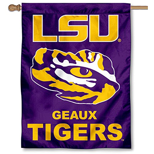 College Flags and Banners Co. LSU Banner House Flag