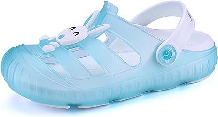 Gaatpot Zuecos para Unisex Niños Sandalia Zapatos Zapatillas Chanclas de Playa de Verano 22-29