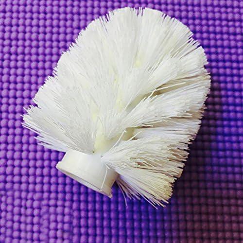 White Universale testa scopino di ricambio spazzola di ricambio per WC bianco 80*95mm Inter design testa scopino da bagno