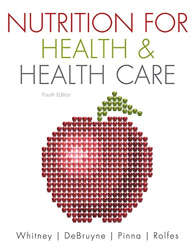 Nutrition for Health and Health Care (Available Titles...