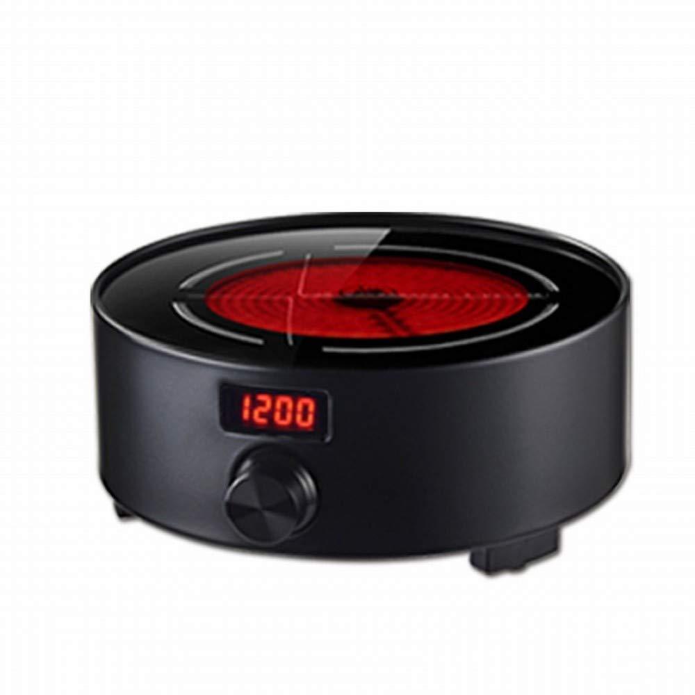 CN Estufa de té de cerámica eléctrica Onda de luz silenciosa Mini pequeña Tetera de cocción Cocina de inducción Cocina de inducción del hogar,Oro,1: ...