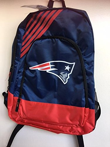 New England Patriots Border Stripe Backpack