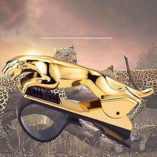 Car Phone Holder Car Phone Holder Leopard Cheetah 360 Degree GPS Navigation Dashboard Phone Holder