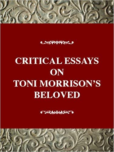 Thesis Essay Example Amazoncom Critical Essays On Toni Morrisons Beloved Critical Essays On  American Literature Series  Barbara Solomon Books Health And Social Care Essays also Sample Essay Papers Amazoncom Critical Essays On Toni Morrisons Beloved Critical  Cheap Essay Papers