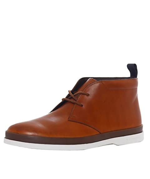 b32d58bd81b PS by Paul Smith Men's Leather Inkie Chukka Boots Tan: Amazon.ca ...