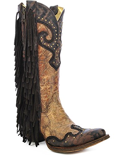 Bottes Corral Femmes A3149 Marron / Botte Chocolat Marron
