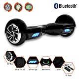 Levit8ion ION 6.5' Hoverboard -Self Balancing Scooter 2 Wheel Electric Scooter - UL Certified 2272 Bluetooth W/Speaker, LED Wheels and LED Lights