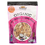 New England Naturals Organic Granola Select Berry - Coconut - Non GMO - Case of 6 - 12 Ounce