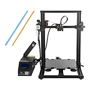 Comgrow Creality 3D Printer CR-10S with Filament Monitor Dual Z Rod 300x300x400mm by Creality 3D