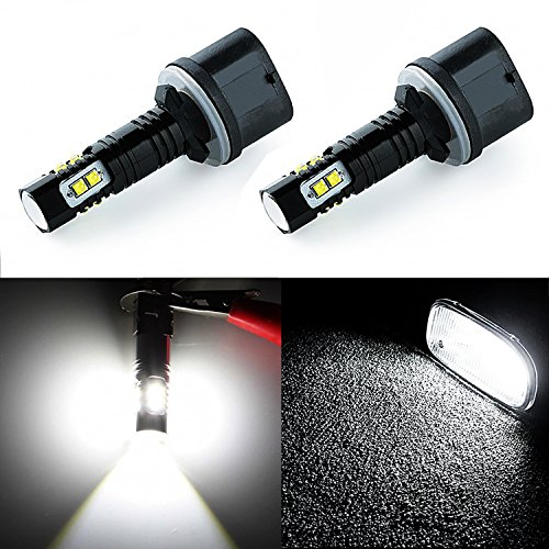 JDM ASTAR Extremely Bright Max 50W High Power 880 890 892 CREE LED Bulbs for DRL or Fog Lights, Xenon White (2003 Pontiac Montana Fog Lights compare prices)
