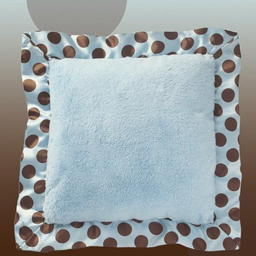 Bearington Baby - Posh Dots Pillow (Blue)