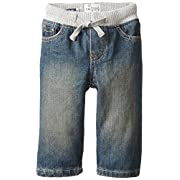 The Children's Place Baby Boys' Pull-on Liberty Denim Jean, Aged Stone, 9-12 Months