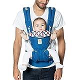 Ergobaby Omni 360 All-in-One portabebé ergonómico, recién nacido para niño pequeño, edición especial Hello Kitty, clásico