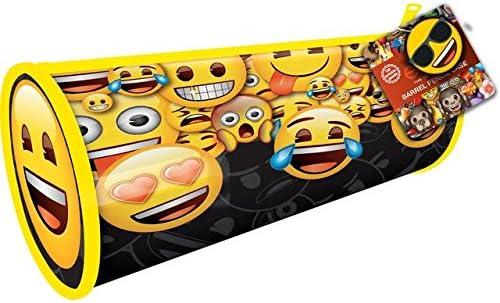 Estuche Emoji Barrel Negro: Amazon.es: Juguetes y juegos