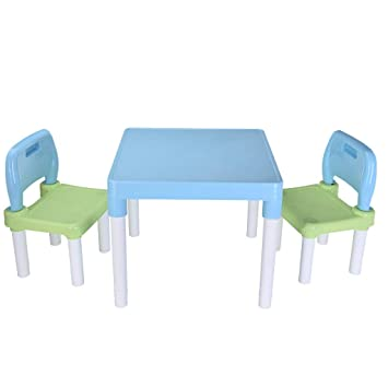 Outstanding Amazon Com Shan S Kids Table And Chairs Set Kindergarten Gmtry Best Dining Table And Chair Ideas Images Gmtryco